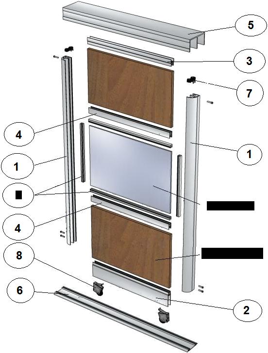 Двери для шкафа купе своими руками с размерами