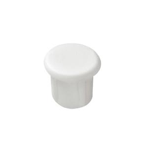 Заглушка 6.6х5 мм, белая 045.20.702