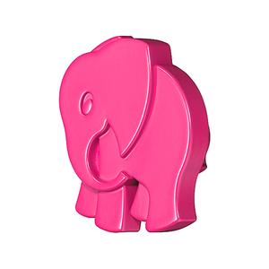 Мебельная ручка Слоненок розовый, 138.68.411