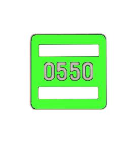 Номерной знак 231.81.010