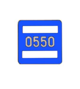 Номерной знак 231.81.018