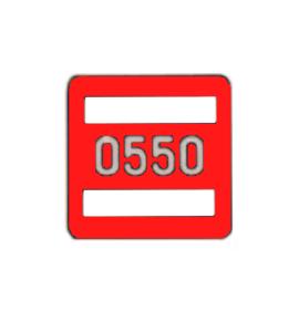 Номерной знак 231.81.019