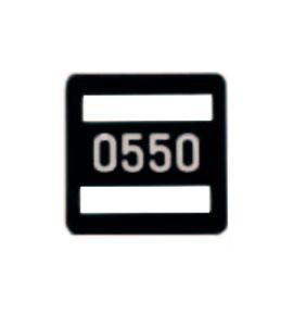 Номерной знак 231.81.013