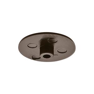 Заглушка MINIFIX 15 мм, черная, 262.24.359