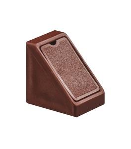 Стяжка угловая Mini коричневая 262.56.155