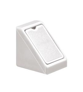 Стяжка угловая Mini белая 262.56.708