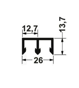Направляющий профиль 406.24.02x
