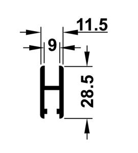 Ходовая шина 415.12.615