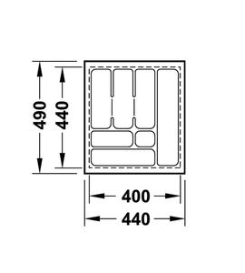 Лоток 440x490x50 мм 556.62.625