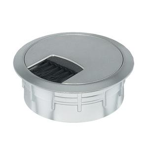 Кабельный вывод круглый, серебро, d60 мм 631.35.013