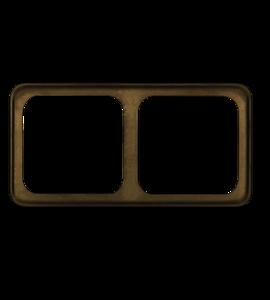 Рамка для выключателей и розеток 820.88.122
