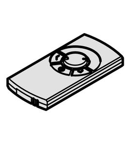 Пульт ДУ д/блока управ-я 24 В 833.77.781