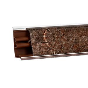 Плинтус Аламбра темная 3000х37х24 мм LB-37-392