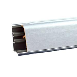 Плинтус Алюминий сатин 3000х37х24 мм LB-37-450