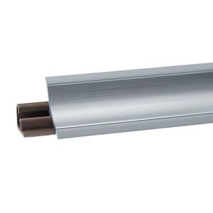 Плинтус Алюминий серебристый 3000х23х23 мм LB-231-610