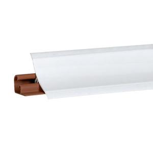 Плинтус Белый блеск 3000х23х23 мм LB-231-6056