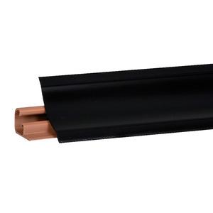 Плинтус Черный матовый 3000х23х23 мм  LB-231-6051