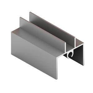 Рамка нижняя 4в1, Матовый хром CKRU-0408/661