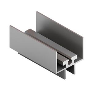 Рамка верхняя, 4в1, матовый хром CKRU-0409/660