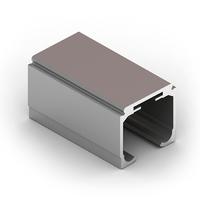 Направляющая верхняя, 4в1, Серебро матовое FA0410.VP500.SLMAN.CJ