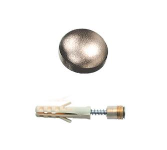 Держатель стекла d=16 мм, 5.10.04 матовый никель Lincos держатель 5.10.04 d16 мм, мат. никель