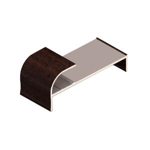 Фасонный упор, Венге темный CKRU0002/56