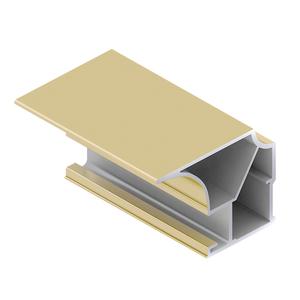 Вертикальный профиль FLAT, Матовое золото AS0533.VP540.GLMAN.CJ