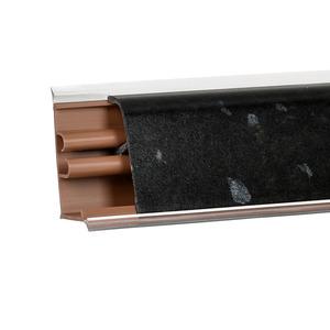 Плинтус Гранит черный V 3000х37х24 мм LB-37-375