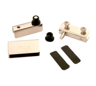 Мебельные петли для стекла HG001/Ni
