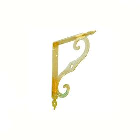 Кронштейн фигурный SB-44-1 100x75 мм золото К-29-Золото SB-44-1