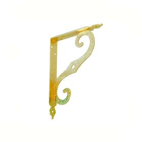 Кронштейн фигурный SB-44-1 150x125 мм золото К-31-Золото SB-44-1