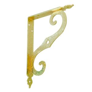 Кронштейн фигурный SB-44-1 250x200 мм золото К-35-Золото SB-44-1