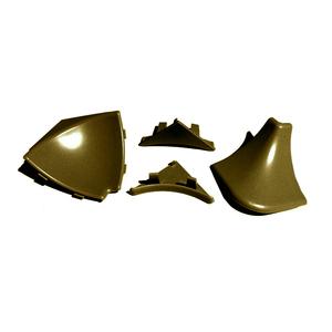 Аксессуары к плинтусу вогнутый Плато бронза Комплект аксессуаров вогнутый бронза