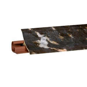 Плинтус Королевский опал темный 3000х23х23 мм  LB-231-6073
