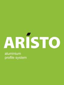 Рамочный алюминиевый фасад широкий Аристо