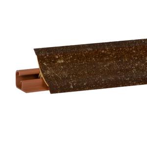 Плинтус Мрамор Де мази темн. 3000х23х23 мм  LB-231-6078