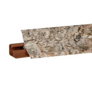 Плинтус Мрамор серый 3000х23х23 мм  LB-231-6086