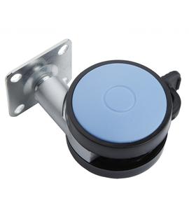 Мебельное колесо N107BL/Blu.5