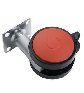 Мебельное колесо N107BL/RD.5
