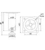 Мебельная опора N303CP.2