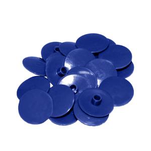 Заглушка на евровинт синяя