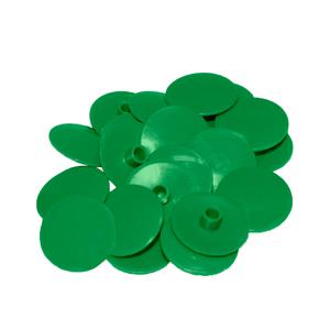 Заглушка на евровинт зеленая