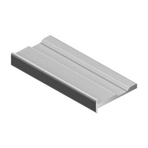 Рамка горизонтальная NOVA16, Серебро матовое NB0442.VP540.SLMAN.CJ