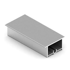 Рамка средняя закрытая NOVA16, Серебро матовое NB0486.VP540.SLMAN.CJ