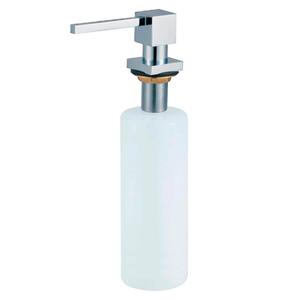 Дозатор для мыла Хром сатин OL-401FS