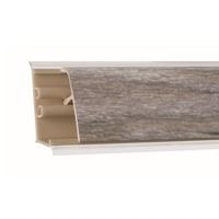 Плинтус Оникс серебристый 3000х37х24 мм  LB-37-483