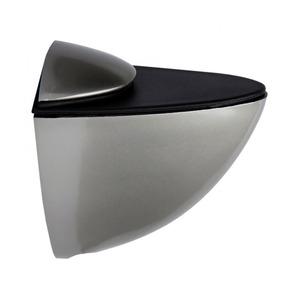 Полкодержатель зажимной, никель сатин, P505SN.2