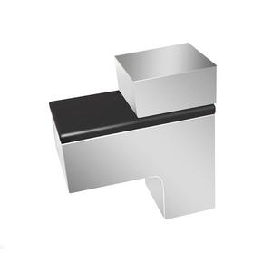 Полкодержатель зажимной, хром, P510CP.2