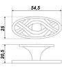 Мебельная ручка RC404EAB.4