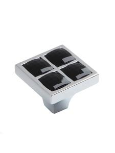 Мебельная ручка RC411CP/CrBl.4